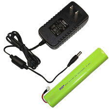 HQRP Kit AC Adapter and Battery for TDK A33 A34 Life on Record Wireless Speaker