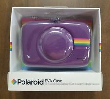 PURPLE POLAROID EVA CASE FOR SNAP & SNAP TOUCH INSTANT PRINT CAMERAS - NEW