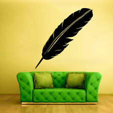 Wall Decal Vinyl Sticker Decals Bird Feather Writer Symbol (Z1344)