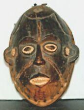 Authentic African Congo Tribal Fetish/Power Mask Iron Nails ~ Scarification.