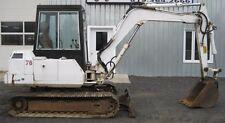 BOBCAT 116 Hydraulic Excavator Service and Operator's  Manual CD
