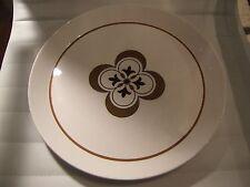 Mikasa China Ben Seibel DUPLEX EXTENSION Brown Floral Round Chop Plate Retro 70s