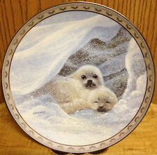 Duane Geisness Sweet Embrace 3rd Issue Peace on Earth Seals Collector Plate