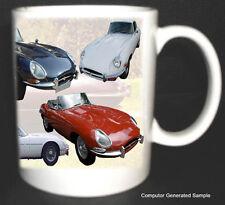 JAGUAR E-TYPE CLASSIC CAR MUG LIMITED EDITION. NEW