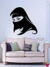 Wall Stickers Vinyl Decal Muslim Islamic Arabic Woman Religious Decor (z2043)