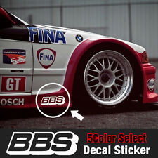 BBS Speed Mania Fashion Decal Sticker (2Pcs) 210mm x 70mm For All Vehicle