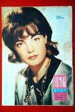 ROMY SCHNEIDER ON COVER 1963 RARE EXYU MAGAZINE