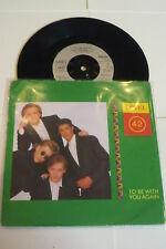 "LEVEL 42 - To Be With You Again - 1987 UK 2-track 7"" Juke Box Vinyl Single"