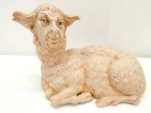 #169/12 Schafer Vater German Porcelain Andromorphic Lamb