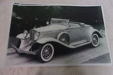1932 STUDEBAKER COMMANDER 8  ROADSTER 11 X 17  PHOTO /  PICTURE