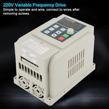 AC 220V 4kW Variateur de Fréquence VFD PWM Monophasé 20A Vitesse Contrôleur