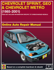 Service & Repair Manuals for Geo Metro for sale   eBay on