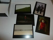 Bill Viola - Frustrated actions and futile gestures 5 x ART POSTCARDS IN WALLET