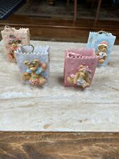 Cherished Teddies- Bags- Lot Of 4