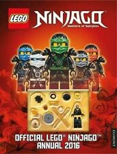 THE OFFICIAL LEGO NINJAGO ANNUAL: 2016 by Egmont UK Ltd with Minifigure B/NEW
