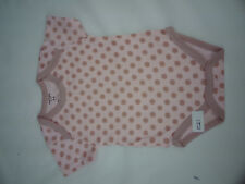 girls pink and brown polka dot romper