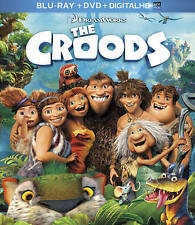 The Croods (Blu-ray+DVD, 2013, 2-Disc Set, Digital Copy has expired)