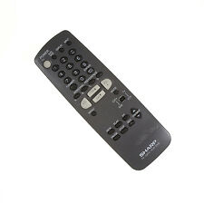 SHARP TV CATV Remote Control-1 YR WARRANTY TESTED***MISSING BACK COVER