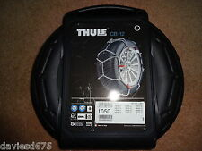 THULE KONIG SNOW CHAINS CB-12 - Size 050 NEW