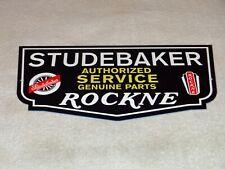 "New ListingVintage Studebaker Knute Rockne Car & Truck Parts 12"" Metal Gasoline & Oil Sign!"