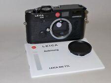 Leica M6 TTL 0.85 schwarz/black 10436 .. TOP! ..  ---   Leitz
