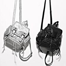 Women's Cute Small Mini Satchel Bag Faux Leather Travel Backpack Handbag Purse