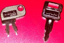 A Popular 2 key Caterpillar Key Set