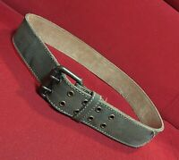 1969 camouflage belt cotton with leather lining