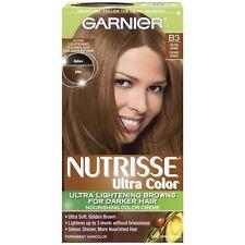 Garnier Nutrisse Ultra Color Nourishing Color Creme Kit, B3 Golden Brown
