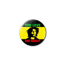 Bob Marley (e) 1.25in Pins Buttons Badge *BUY 2, GET 1 FREE*