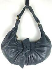 BCBGGirls Black Luxurious Leather B