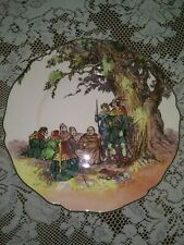 Royal Doulton seriesware Under the Greenwood Tree Robin Hood 10 inch plate D6341