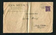 Österreich Privat GA Umschlag aus Wien 1917  3 Heller  (BA-6)