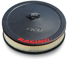 Ford Racing Air Cleaner Kit Black Crinkle Raised Emblem