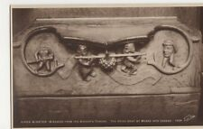 Ripon Cathedral Misericord, Spies Sent By Moses RP Postcard, B314