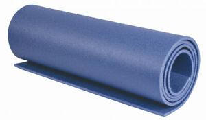 HIGHLANDER 3 SEASON BLUE CAMPER 7mm THICK FOAM CAMPING BED SLEEP ROLL MAT