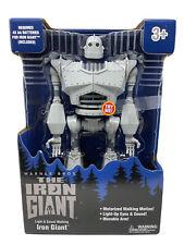 "The Iron Giant 14"" Motorized Lights & Sounds Walking Electronic Toy Robot"
