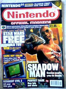 63462 Issue 83 Nintendo Official Magazine Magazine 1999