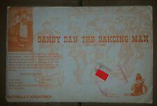 Vintage Ozark Crafts Dandy Dan The Dancing Man Doll Pattern RARE