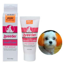 orange color dog hair dye color 50g Harmless pet dye natural fruit pet hair