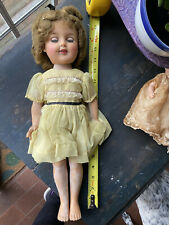 Vintage 1950's 17� Ideal Shirley Temple Doll vinyl St-17