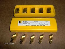 """NRP4094R, GR KC730 """"KENNAMETAL TOP NOTCH"""" FULL RAD. GROOVING INSERTS, 5 PIECES"""