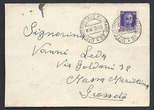 POSTA MILITARE 1939 Lettera da PM 22 a Massa Marittima (MB)