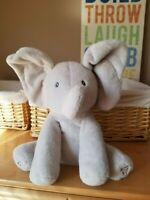Baby GUND Flappy The Elephant Plush Animated Toy ~ Excellent Condition 4053934