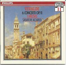 Vivaldi ~ 6 Concerti op. 11 ~ I Musici / Accardo
