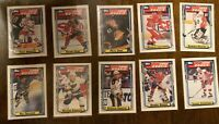 1992-93 Topps Super Rookie Set  BURE LIDSTROM Amonte Konstantinov - MInt
