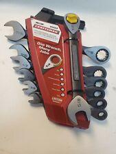 Craftsman 7 Pc Universal Design Ratcheting Wrench Set 21028 Inch
