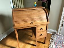 Childs Antique Roll Top Desk 1920ish