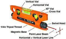 Geo-Fennel linepointer-À faire soi-même Torpedo Spirit Niveau avec Laser Spot et Ligne Laser