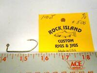 100-4//0 Matzuo 149020 Bronze Sickle Jig Hooks